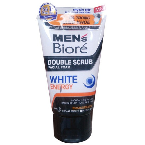 Sữa rửa mặt Biore trắng khỏe dành cho nam tuýp 100g