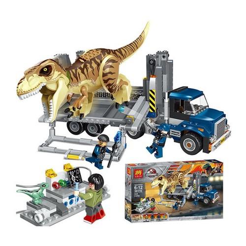 Lắp ráp xếp hình mô hình xe tải nghiên cứu và chuyên chở khủng long Jurassic bạo chúa 631 khối - 5385366 , 11747632 , 15_11747632 , 430000 , Lap-rap-xep-hinh-mo-hinh-xe-tai-nghien-cuu-va-chuyen-cho-khung-long-Jurassic-bao-chua-631-khoi-15_11747632 , sendo.vn , Lắp ráp xếp hình mô hình xe tải nghiên cứu và chuyên chở khủng long Jurassic bạo chúa