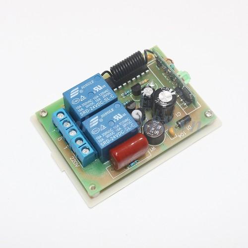 Bộ kit thu phát 433Mhz loại 3 nút bấm gồm tay phát và module thu