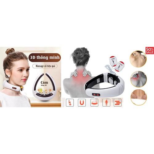 Máy massage cổ vai gáy thông minh 3D và xung điện trị liệu cảm ứng từ - 10867847 , 11748570 , 15_11748570 , 359000 , May-massage-co-vai-gay-thong-minh-3D-va-xung-dien-tri-lieu-cam-ung-tu-15_11748570 , sendo.vn , Máy massage cổ vai gáy thông minh 3D và xung điện trị liệu cảm ứng từ