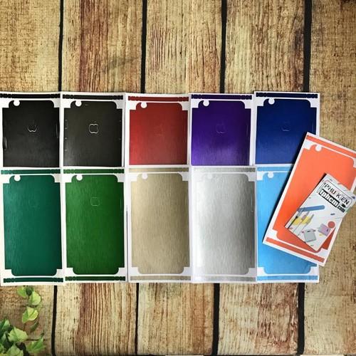 Dán mặt lưng Màu iPhone 6-6s