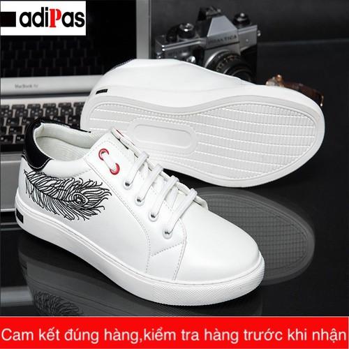 Giày sneaker nam trắng- Giày nam trắng 2018-Giày trắng nam Hàn Quốc - 5384402 , 11746649 , 15_11746649 , 298000 , Giay-sneaker-nam-trang-Giay-nam-trang-2018-Giay-trang-nam-Han-Quoc-15_11746649 , sendo.vn , Giày sneaker nam trắng- Giày nam trắng 2018-Giày trắng nam Hàn Quốc