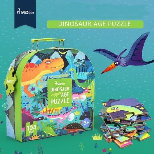 Bộ ghép hình Dinosaur puzzle của Mideer