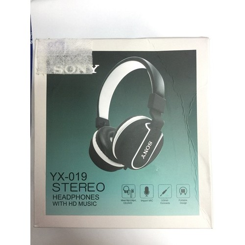 Tai nghe Sony YX-019 STEREO HEADPHONES WITH HD MUSIC
