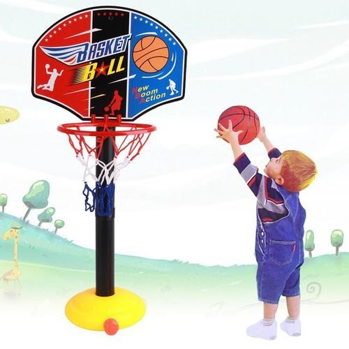 đồ chơi bóng rổ giúp bé phát triển chiều cao