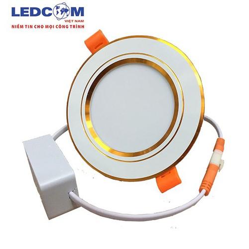 Đèn led âm trần có tản nhiệt viền vàng 7W ánh sáng trắng - 5386144 , 11748738 , 15_11748738 , 60000 , Den-led-am-tran-co-tan-nhiet-vien-vang-7W-anh-sang-trang-15_11748738 , sendo.vn , Đèn led âm trần có tản nhiệt viền vàng 7W ánh sáng trắng
