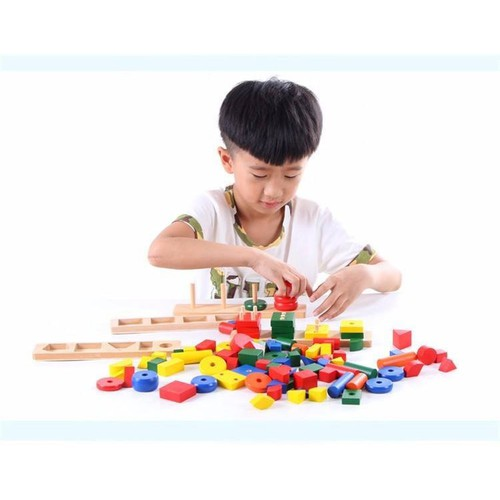 Giáo cụ Montessori 8 món_ mẫu 1