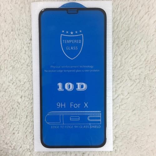 Cường lực 10D iphone X XS full màn