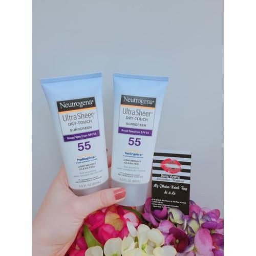 Kem chống nắng Neutrogena Ultra Sheer Dry-Touch