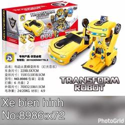 Xe Đồ Chơi Biến Hình Robot BX0340
