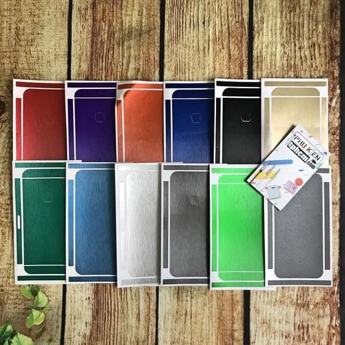 Dán mặt lưng Màu iPhone 5-5s-Se