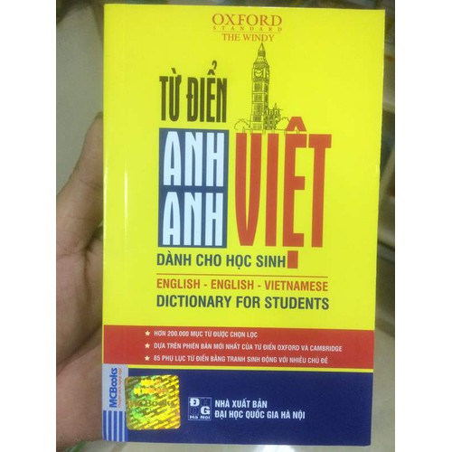 Từ điển Anh Anh Việt
