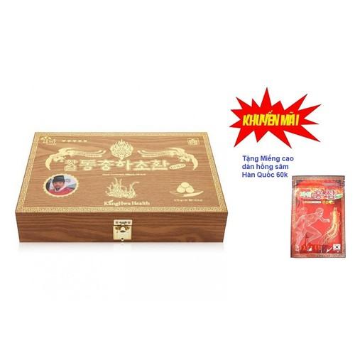 Đông trùng vali hộp gỗ vàng 3.75g viên