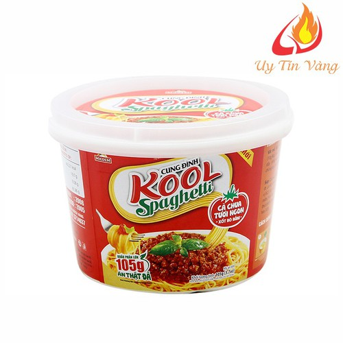 Mì Cung Đình Kool Sốt Spaghetti Hương Vị Thịt Bò Bằm Và Cà Chua