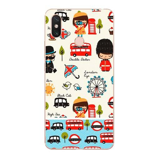 Ốp lưng điện thoại xiaomi mi max 3 - london 02