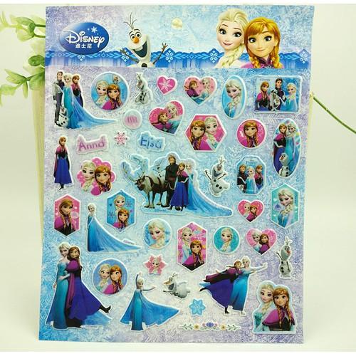 Hình dán sticker công chúa Elsa