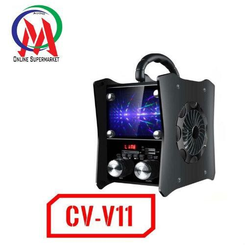 Loa bluetooth cao cấp Vision VSP CV-V11 có đèn led