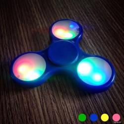 Con quay xả stress Fidget Spinner có đèn LED màu sắc ngẫu nhiên