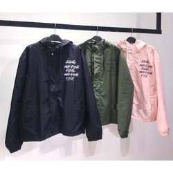 áo khoác thể thao nữ, áo khoác dù nữ