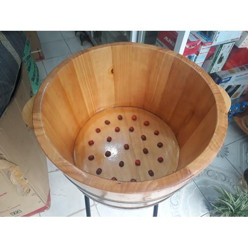 Bồn ngâm chân bằng gỗ thông có hạt mát xa chậu ngâm chân bằng gỗ - 5410084 , 11774909 , 15_11774909 , 470000 , Bon-ngam-chan-bang-go-thong-co-hat-mat-xa-chau-ngam-chan-bang-go-15_11774909 , sendo.vn , Bồn ngâm chân bằng gỗ thông có hạt mát xa chậu ngâm chân bằng gỗ