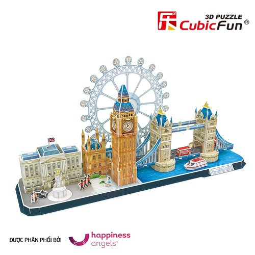 MÔ HÌNH GIẤY CUBIC FUN CITYLINE LONDON MC253H