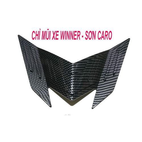 CHỈ MŨI NHỎ TRANG TRÍ XE WINNER 150 -SƠN CARO - SƠN CARBON