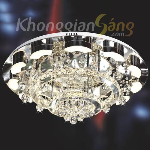 ĐÈN ỐP TRẦN LED_PHI 800mm x H200mm