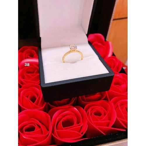 nhẫn nữ vàng tây 10 kara