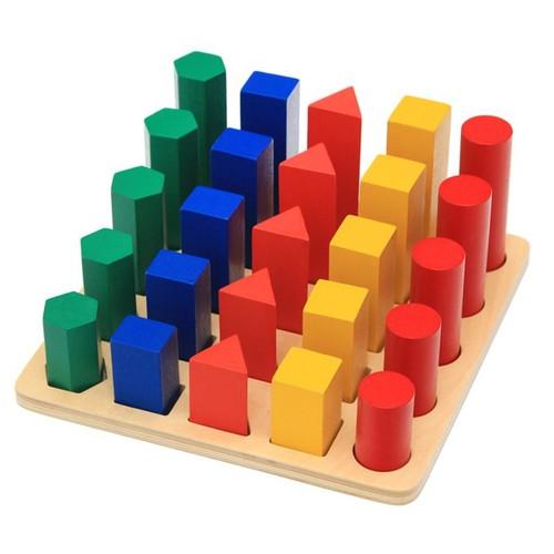 Trụ so sánh Montessori