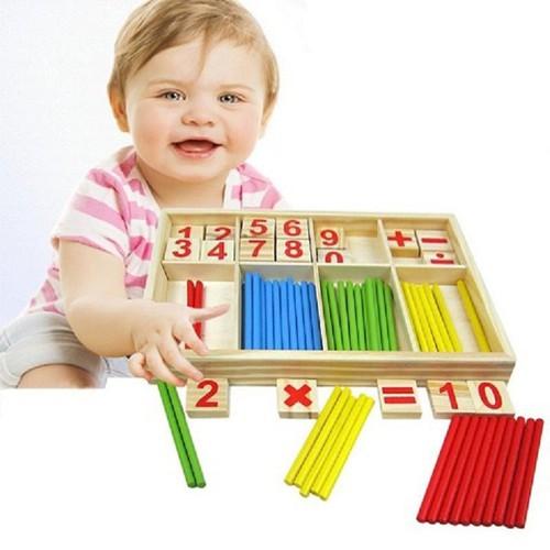 Que tính cho bé học toán số Intelligence Stick