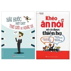 combo 2 cuốn : hài hước một chút, khéo ăn khéo nói
