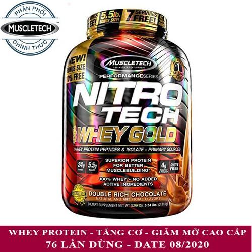 Sữa tăng cơ Nitro Whey Gold của MUSCLETECH hương Socola hộp 76 lần dùng hỗ trợ tăng cơ, giảm cân, đốt mỡ, tăng sức bền sức mạnh cho người tập gym - 11160677 , 11797620 , 15_11797620 , 1800000 , Sua-tang-co-Nitro-Whey-Gold-cua-MUSCLETECH-huong-Socola-hop-76-lan-dung-ho-tro-tang-co-giam-can-dot-mo-tang-suc-ben-suc-manh-cho-nguoi-tap-gym-15_11797620 , sendo.vn , Sữa tăng cơ Nitro Whey Gold của MUSC