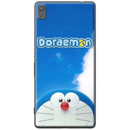 Ốp lưng nhựa dẻo Sony XA Ultra Doraemon nền trời