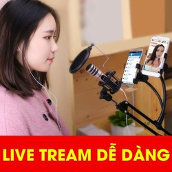 MIC THU ÂM 3IN1 LIVESTREAM C6