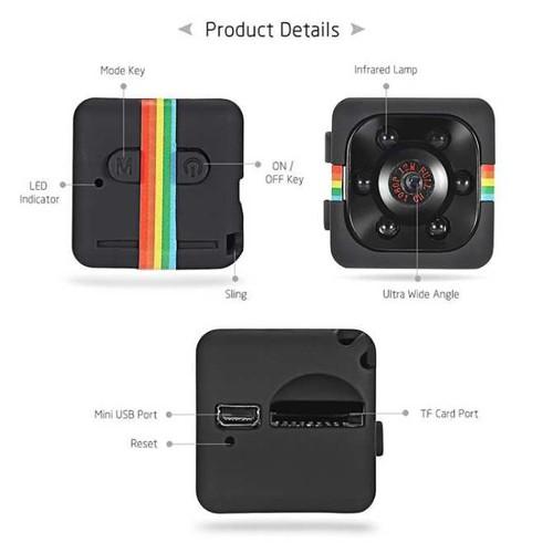 Camera hành trình SQ11-máy quay siêu nhỏ-camera di động