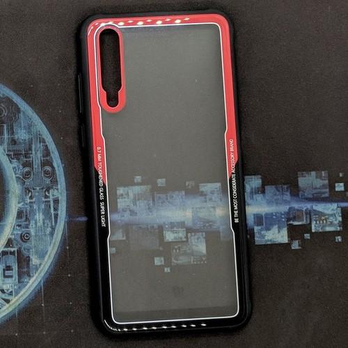 Ốp lưng Huawei P20 Pro Kính Likgus viền đỏ