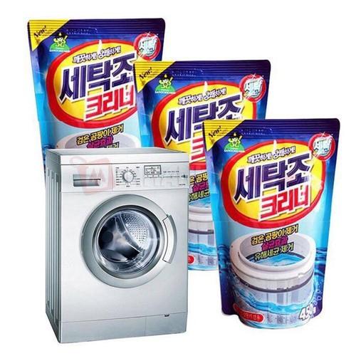 Bột tẩy vệ sinh lồng máy giặt -Combo 2 túi
