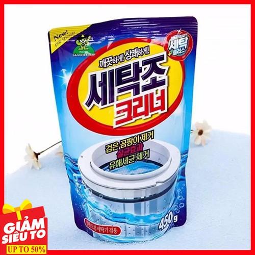 bột tẩy lồng máy giặt - Vệ sinh lồng giặt