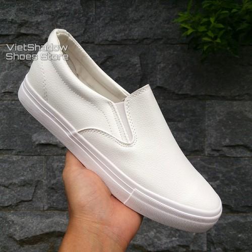 Slip on da nam - Giày lười da nam tăng chiều cao - Da PU màu trắng - 5422469 , 11789392 , 15_11789392 , 250000 , Slip-on-da-nam-Giay-luoi-da-nam-tang-chieu-cao-Da-PU-mau-trang-15_11789392 , sendo.vn , Slip on da nam - Giày lười da nam tăng chiều cao - Da PU màu trắng
