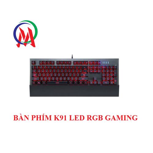 BÀN PHÍM K91 LED RGB GAMING