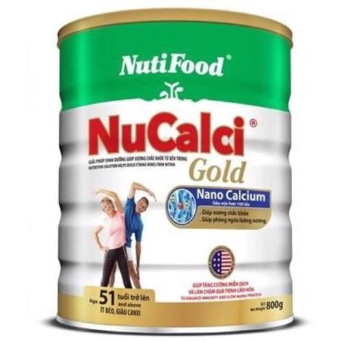 Sữa Nucalci gold 51 tuổi trở lên