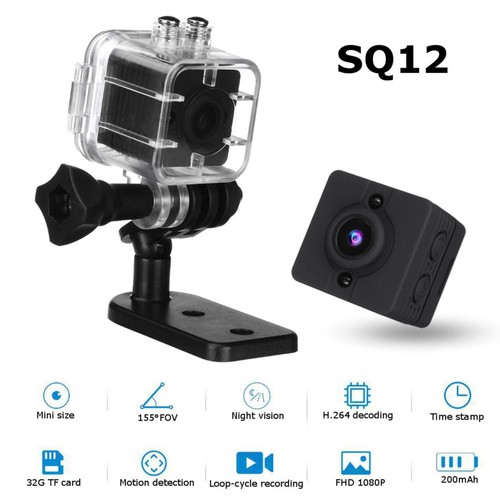 Camera hành trình SQ12-máy quay siêu nhỏ-camera mini-cam hành trình