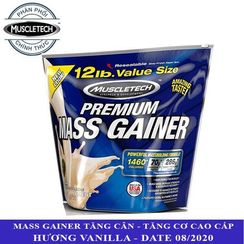 Sữa tăng cân tăng cơ Premium Mass Gainer hương Vanilla bịch 5.4 kg hỗ trợ tăng cân tăng cơ nạc nhanh chóng cho người gầy kén ăn, khó hấp thu - 11160678 , 11797666 , 15_11797666 , 1600000 , Sua-tang-can-tang-co-Premium-Mass-Gainer-huong-Vanilla-bich-5.4-kg-ho-tro-tang-can-tang-co-nac-nhanh-chong-cho-nguoi-gay-ken-an-kho-hap-thu-15_11797666 , sendo.vn , Sữa tăng cân tăng cơ Premium Mass Gaine