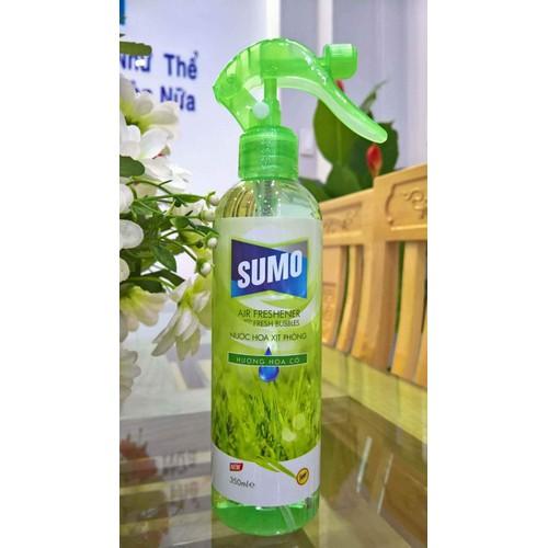 nước hoa xịt phòng sumo 350ml hương HOA CỎ
