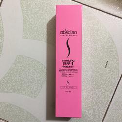 Gel tạo kiểu tóc uốn xoăn tự nhiên OBSIDIAN 1 natural 150ml