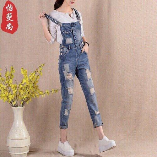 Quần yếm jean đẹp nữ tính - 10426480 , 11794768 , 15_11794768 , 169000 , Quan-yem-jean-dep-nu-tinh-15_11794768 , sendo.vn , Quần yếm jean đẹp nữ tính