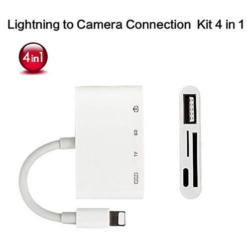 Cáp OTG lightning 4 in 1 cho Iphone Ipad - 5201605 , 11494024 , 15_11494024 , 300000 , Cap-OTG-lightning-4-in-1-cho-Iphone-Ipad-15_11494024 , sendo.vn , Cáp OTG lightning 4 in 1 cho Iphone Ipad