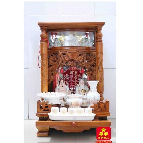 Bàn thờ Ông Địa gỗ Tràm 42 có điện tử - 5201660 , 11494193 , 15_11494193 , 2500000 , Ban-tho-Ong-Dia-go-Tram-42-co-dien-tu-15_11494193 , sendo.vn , Bàn thờ Ông Địa gỗ Tràm 42 có điện tử