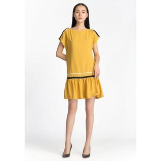 De Leah - Đầm Suông Đuôi Cá Xẻ Vai - Thời trang thiết kế - VL1807071V thumbnail