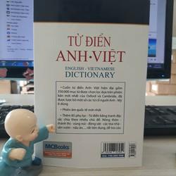 Từ Điển Anh - Anh - Việt - Hơn 350.000 Mục Từ - Bìa trắng mềm